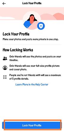 Facebook Profile Lock कैसे करें